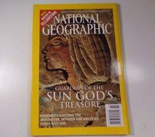 National Geographic Magazine, Guardian of Sun God's November 2003