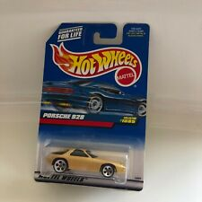 Hot Wheels Mattel Porsche 928 Collector#1085 Gold GB10