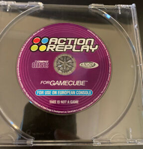 Action Replay Cheats CD ~ GameCube ~ Disc Only ~ Free 1st Class Postage