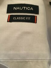 Nautica, size, 16.5-34,35, pale blue, spread collar, dress/ casual shirt