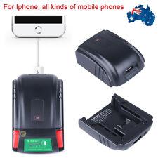 USB Mobile Phone Charger Adaptor for Milwaukee18V M18 48-11-1815 48-11-1820 C18B