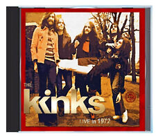 The KINKS, LIVE in Virginia, November 1972, on CD