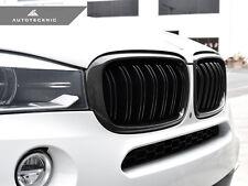AUTOTECKNIC REPLACEMENT CARBON FIBER DUAL SLAT FRONT GRILLE - BMW F15 X5 F85 X5M