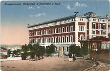 Turkey, Constantinople, German Embassy, Old Postcard