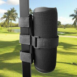 Portable Bluetooth Speaker Mount for Golf Cart Accessories ATV UTV Bike Strap