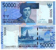 INDONESIEN INDONESIA 50000 50.000 RUPIAH 2013/2005 UNC P NEW