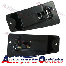 Door Handle  Rear Left & Right Exterior For 99-07 Chevy Silverado/GMC Sierra