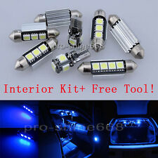Canbus Fit BMW 3 Series E90 M3 2006 Interior Package Kit Light Xenon Blue +TOOL
