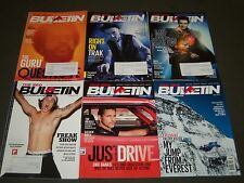 2011-2013 THE RED BULLETIN MAGAZINE LOT OF 24 - GREAT COVERS & PHOTOS - O 543