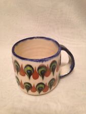 KEN EDWARDS COFFEE/TEA  MUG/ CUP PALOPO GUATEMALA MEXICO POTTERY VINTAGE VGUC