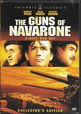The Guns of Navarone (DVD, 2007, 2-Disc Set, Collectors Edition) WWII Classic!