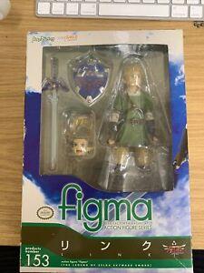 Max Factory Figma 153 Link The Legend Zelda Skyward Sword Nintendo *UK SELLER*