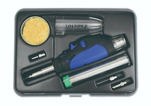 Astro Pneumatic 9473 8 Piece Butane Micro Pencil Soldering Kit