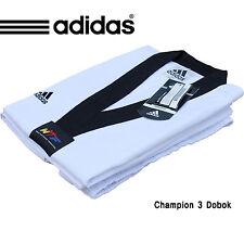 Adidas WTF Uniform/Champ III/ADICHAMP 3 Uniform/Climalite/Taekwondo Dobok/Size1