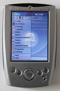 Dell Axim X5 Pocket PC PDA complete inc chargers, leads, manuals, Tom Tom, case