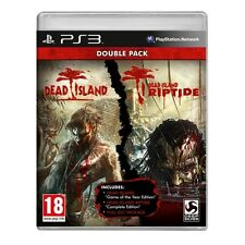 Dead Island Double Pack Jeu PS3-NEUF!