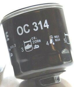 VW LUPO SEAT AROSA SKODA FABIA OCTAVIA 1-1.4L MAHLE OIL FILTER OC314