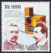 Sao Tome 2007 MNH, Lumiere Brothers, Invented Motion Picture Photography