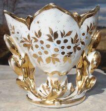 -Pot Jardinière ou Porte Plante Porcelaine Vieux Paris