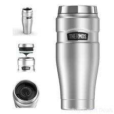 Thermos Stainless Steel Insulated Tumbler Coffee Travel Mug Cup Tea King 16oz