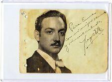Jorge Negrete Signed Autographed Album Page Mexican Singer/Actor