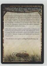 2011 Magic: the Gathering - Mirrodin Besieged #RT3 Rules Tip: Living Weapon 0d2