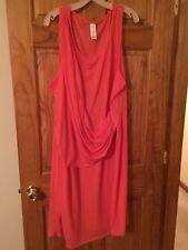 *NWOT* Avon Coral Dress - Size 3X - FREE SHIPPING