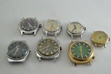Vintage Mechanical Men Watch Lot anker ruhla bitunia Spare Parts