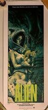 Rockin' Jelly Bean Alien Poster Art Print Erostika Green First Limited Edition