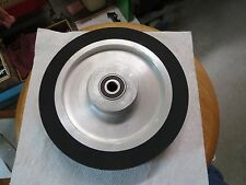 "1""x72"" Belt Sander/Grinder Rubber Contact Wheel, 8"" X 1""  Knife Making Wheel"