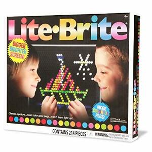 Basic Fun Lite-Brite Ultimate Classic Retro Toy Gift for Girls and Boys Ages 4+