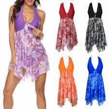 Bathing Suit Floral Tankini Print Swimwear Summer Fashion Swim Dress Swimsuit