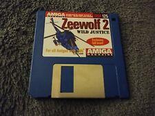 Zeewolf 2 Wild Justice Amiga Magazine Cover Disk 125