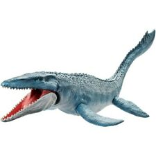 Jurassic World Real Feel Mosasaurus Figure Prehistoric Realistic Kids Toys New