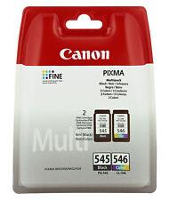 Canon Druckkopfpatrone Multipack schwarz color 8287B005 PG545 CL546 für Pixma MG 2420 2450 2510 2520 2550