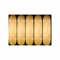 5 BETTER MADE BLANKS Skate Decks 7.5 in NAT w/ JESSUP BRAND NEW IN SHRINK