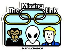 Alien Workshop - Missing Link Skateboard Sticker - skate board bmx guitar new
