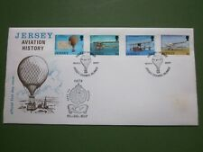 "JERSEY - FIRST DAY COVER - ""Aviation History"" 16th May 1973"