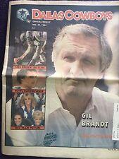 """"""" NFL Dallas Cowboys Official Weekly Magazine December, 29, 1984; Vol. 10, No.29"""