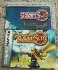 Nintendo Gameboy Advance GOLDEN SUN THE LOST AGE Instruction Manual & Map ONLY