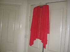 Ladies Loose Jacket Design Emily Adams  Size medium  Colour Dark Pink Rayon 100%