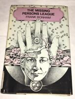 The Missing Persons League by Frank Bonham 1976, First Edition Hardcover