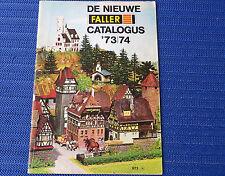 Faller  -- Modellbau Jahres Katalog 1973/74, Sprache niederländisch