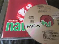 ADAMSKI - NAUGHTY (1992) ORIGINAL CD ALBUM (MCA): NR MINT
