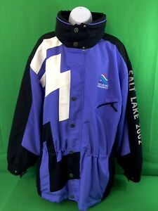 USA 2002 Salt Lake City Paralympics Olympics Jacket Marker Adult Unisex Sz Large
