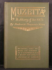 MUZETTA: A STORY OF THE 60'S Frederick Yates 1911 Western Mining + Promo Flyer!