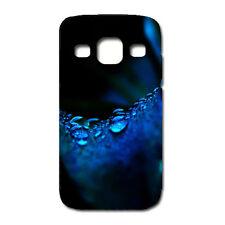 CUSTODIA COVER CASE FIORE GOCCIA BLU PER SAMSUNG GT-I9301 - Galaxy S3 Neo-