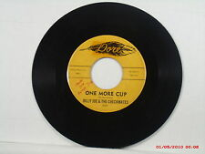 BILLY JOE & THE CHECKMATES-b-(45)-ONE MORE CUP / BOSSVILLE - DORE - LJB 217-1963