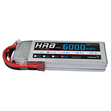 HRB 11.1V 6000mAh 3S Lipo Batteries 50C Deans Plug for RC Helicopter Airplane