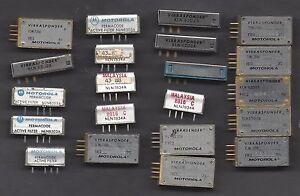 MOTOROLA VIBRASPONDER & PERMCODE E-PROMS - 358.6, 457.9, 634.5, 707.3 & 746.8 Hz